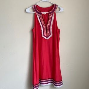 Pink Tribal dress Mud Pie sz small